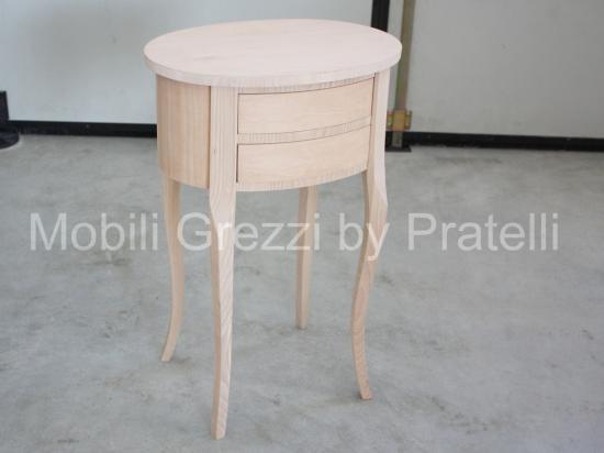 Mobili grezzi da colorare sedie for Mobili vendita on line