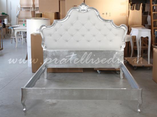 Letto barocco moderno sedie offerta - Letto tappezzato ...