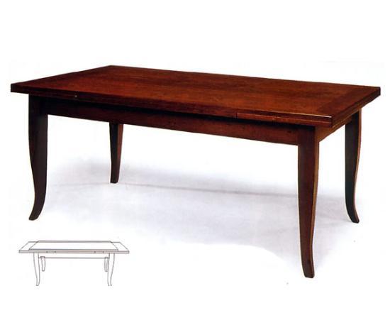 Tavolo allungabile impiallacciato in varie essenze tavoli impiallacciati tavoli - Tavolo ovale allungabile arte povera ...