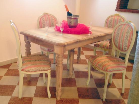 Tavolo rettangolare in noce massello 3 allunghe tavoli in - Tavolo in noce massello ...