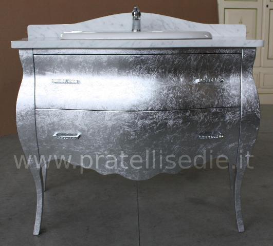 Mobili Moderni Foglia Argento: Mobili da bagno foglia argento com? cassetti.