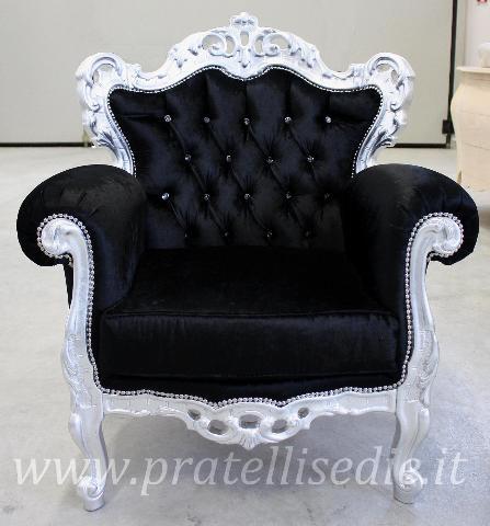 poltrone in stile barocco moderne : Poltrona Barocco,Poltrone & Divanetti ,PratelliSedie.it - sedie ...